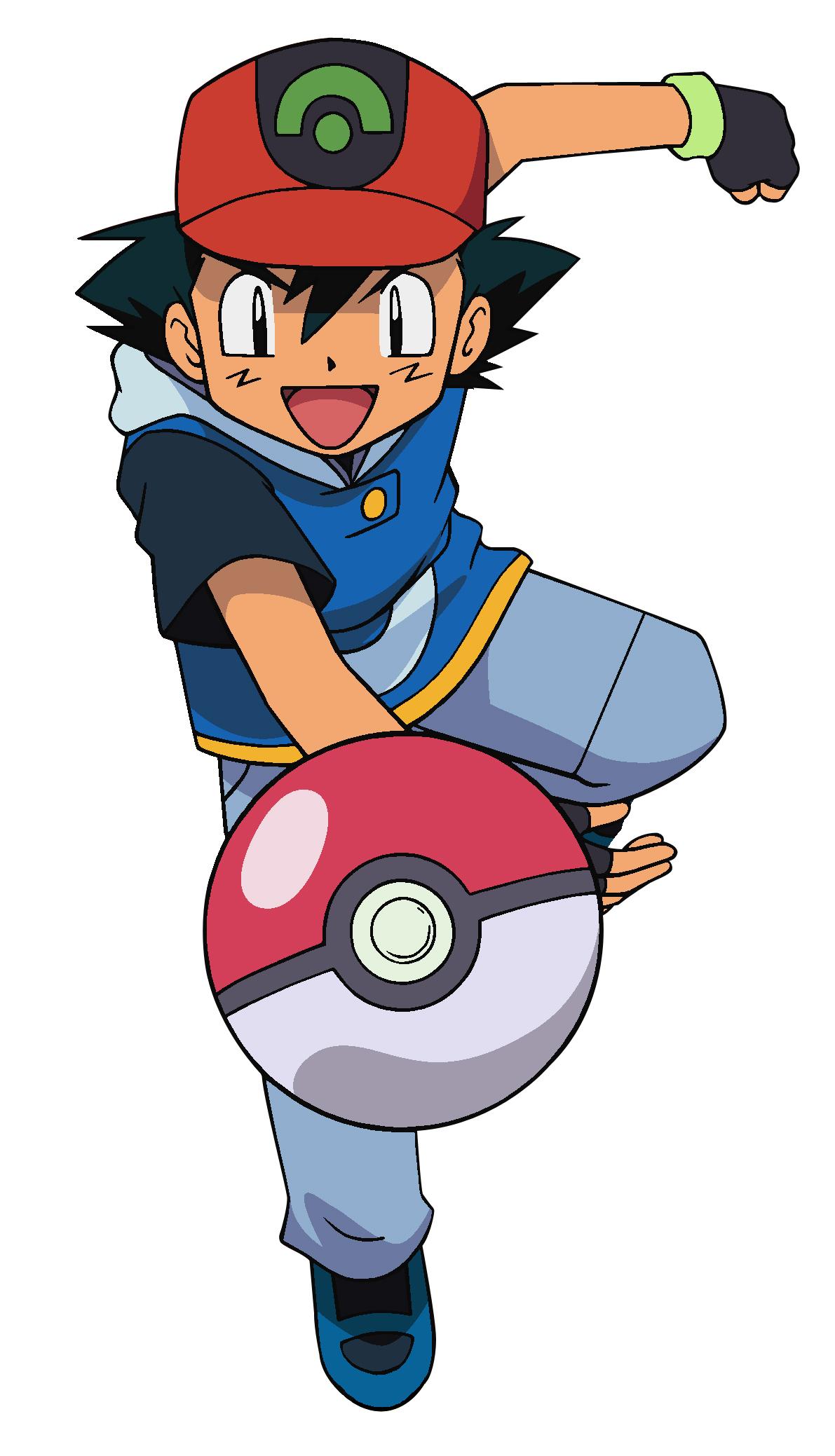 ketchum Pokemon ash